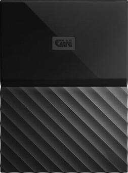 WD My Passport WDBYNN0010BBK-WESN 1 TB External Hard Drive -