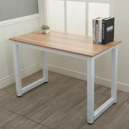 Wood Computer Desk PC Laptop Table Workstation Home Office F